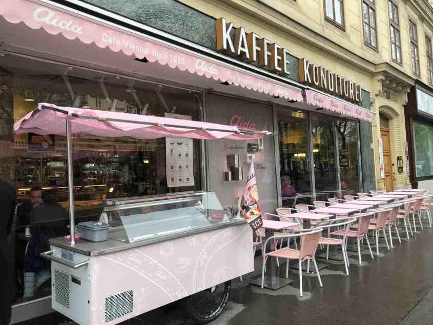 Aida Cafe Vienna Austria