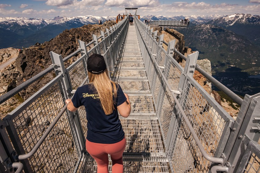 Skyraker Bridge - Whistler On A Budget