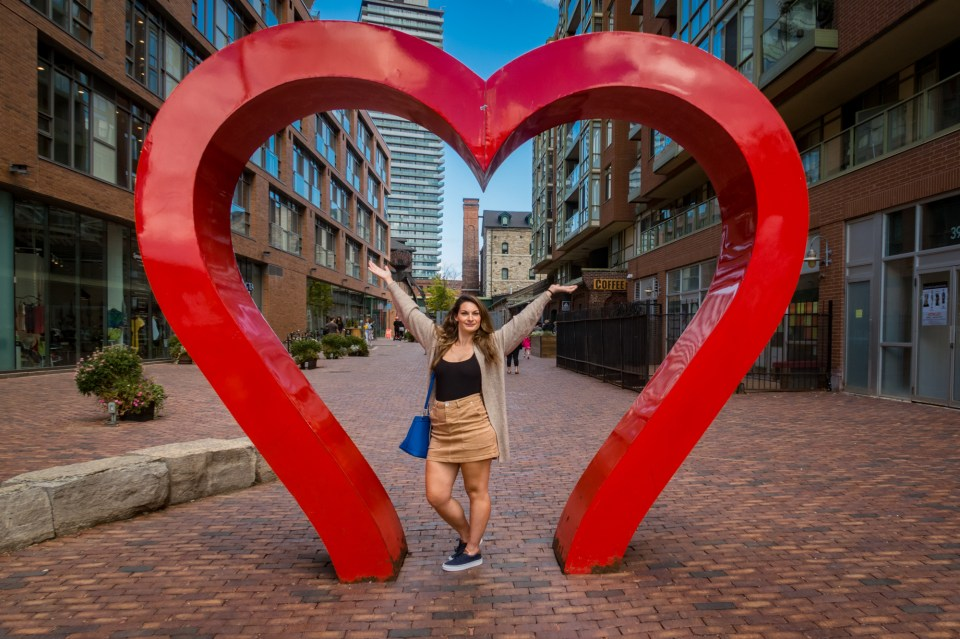 Heart Sign Distillery District