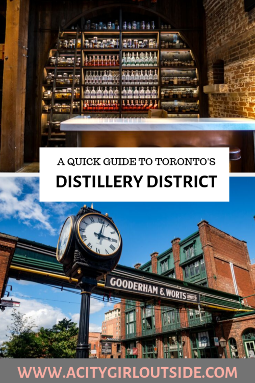 Guide To Toronto's Distillery District