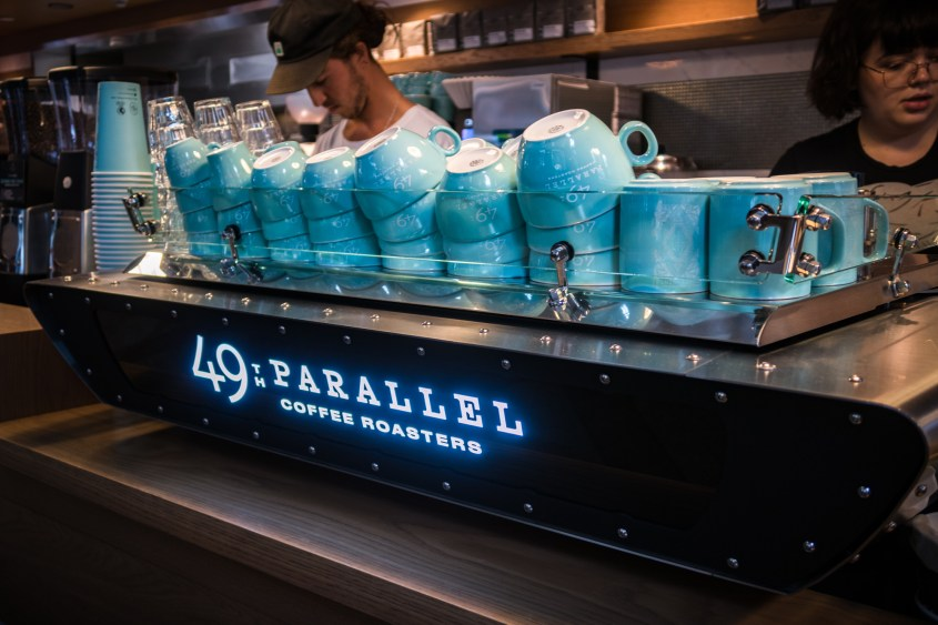 49th Parallel Coffee, Vancouver