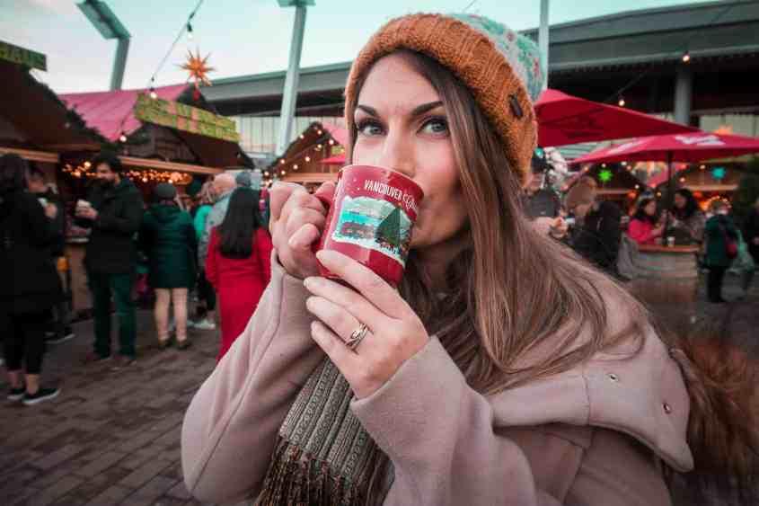 Vancouver Christmas Market Gluwein