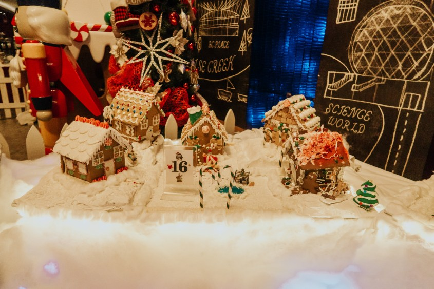 Gingerbread Lane at the Hyatt Hotel - Christmas event Vancouver