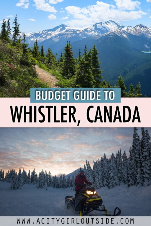 Budget Guide To Whistler, Canada