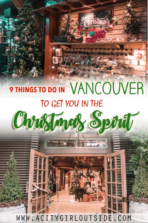 Best Christmas Activities In Vancouver, Canada