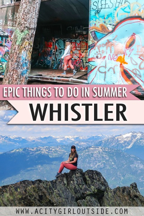 Best Things To Do In Whistler In Summer