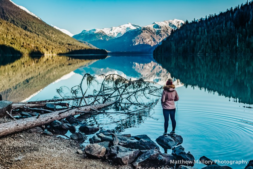 Views of Cheakamus Lake - one of the top hikes in Whistler