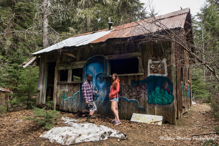 Parkhurst Ghost Town is a little off the radar in Whistler but it's an easy hike in Whistler that's great for a little exploration.