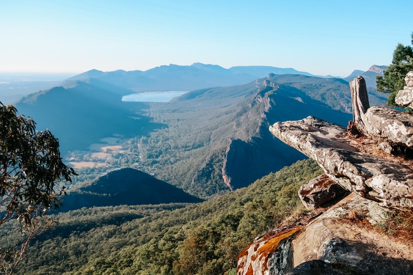 Boroka Lookout in the Grampians National Park - Victoria, Australia
