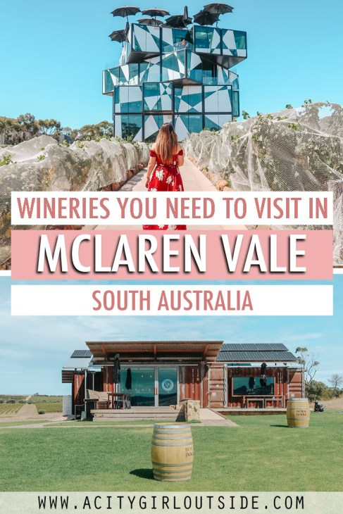 Wineries you need to visit in McLaren Vale, South Australia