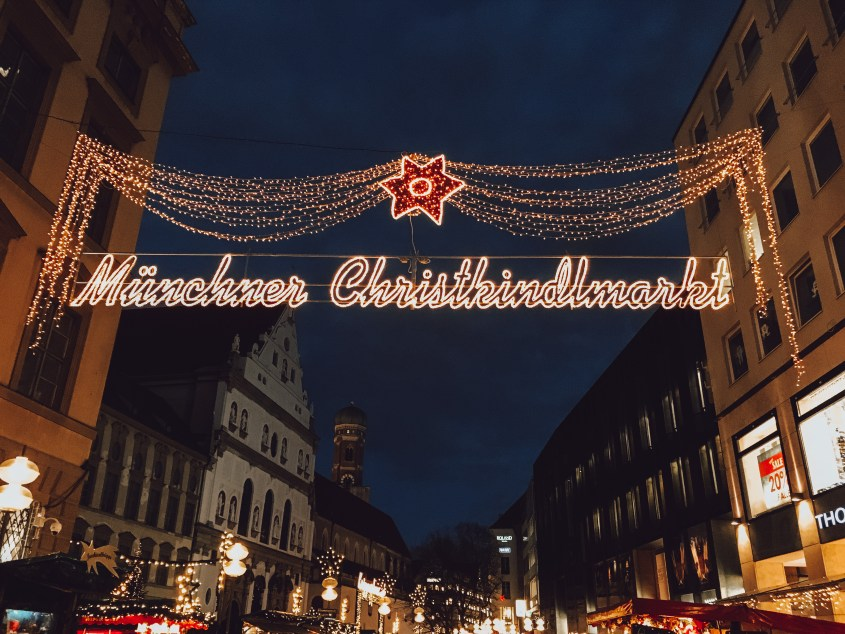 The Munich Christkindlmarkt is located in Marienplatz square and is the biggest Christmas market in Munich