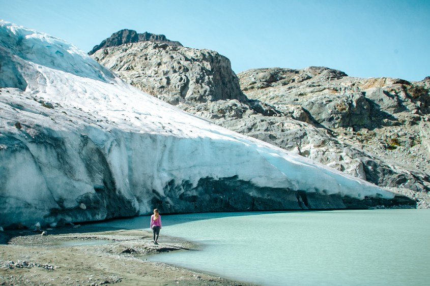 Wedgemount Lake is a bucket list hike in British Columbia and only recommended for experienced hikers.