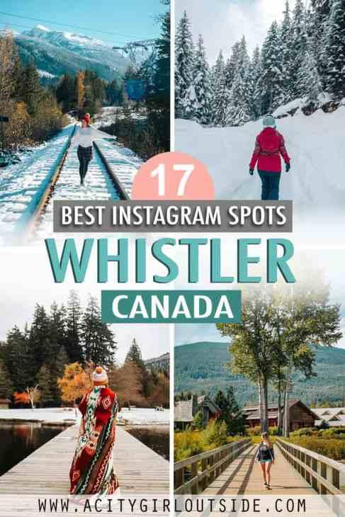 Best Instagram spots in Whistler
