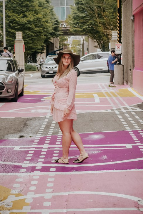 the Pink Alley Vancouver is one of Vancouvers best Instagram Spots