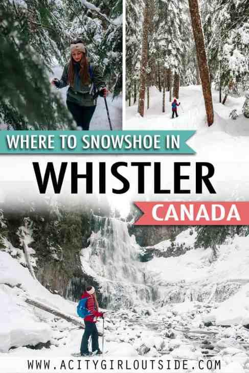 Best Whistler Snowshoe Trails