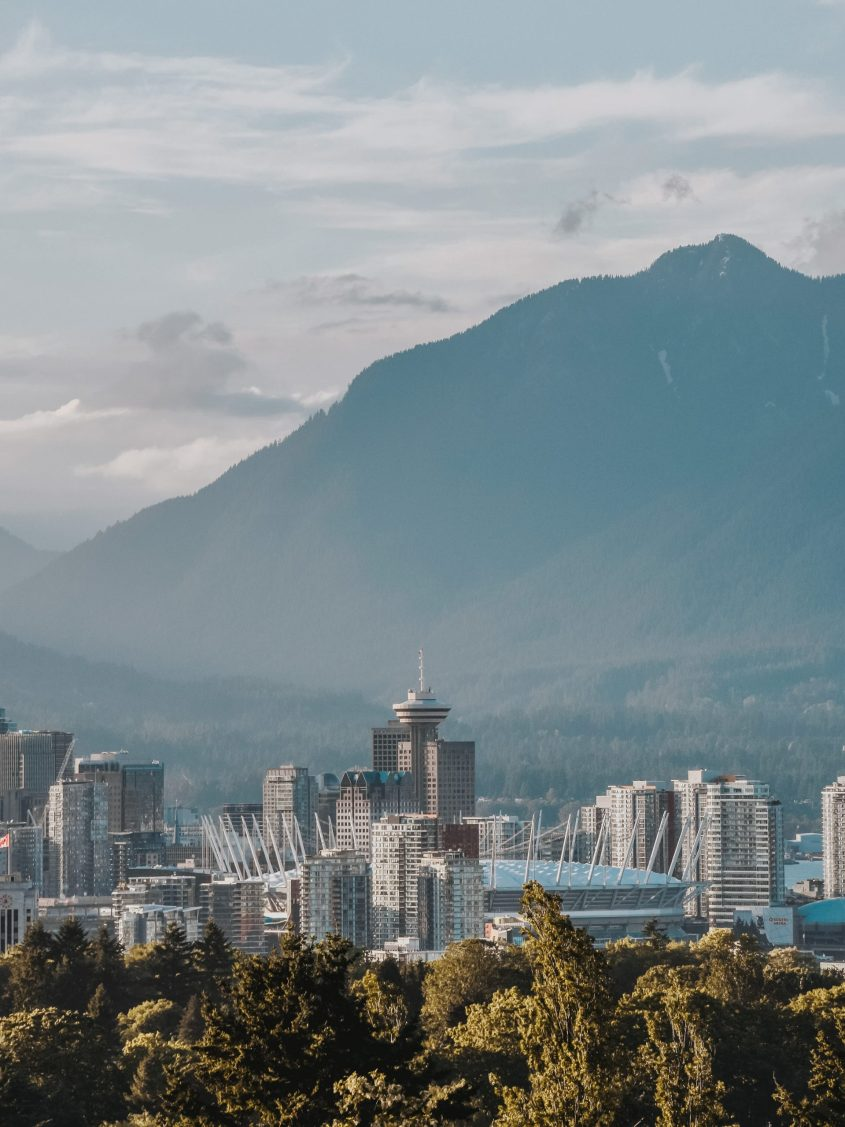 Some of the best views in Vancouver can be found in Queen Elizabeth Park
