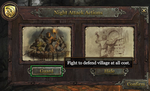 grimmwood night attack actions