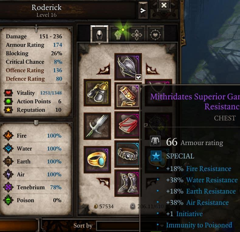 100 percent elemental resistance in Divinity