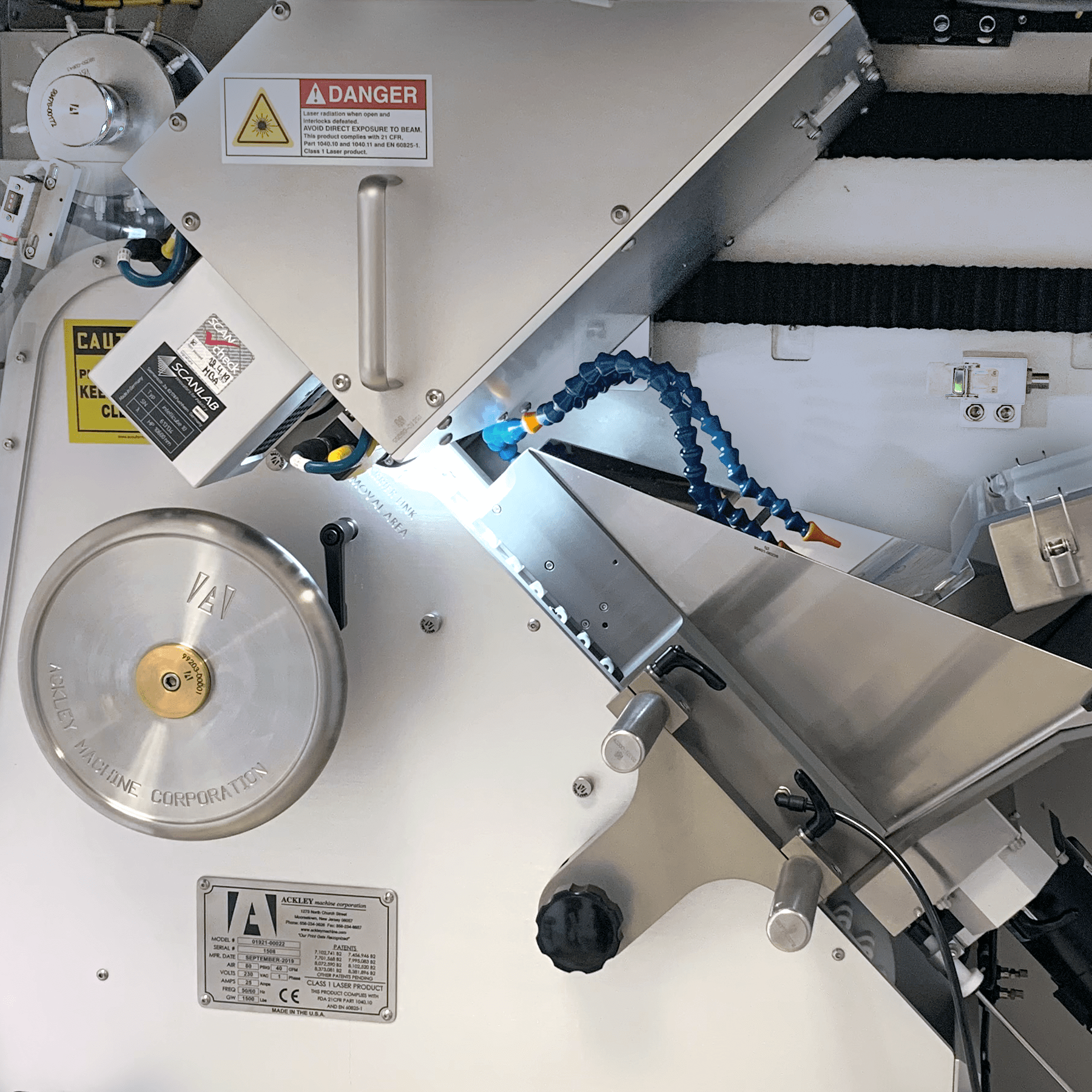 Ackley VIP Pharmaceutical Laser Drilling Machine Vision Inspection Detail 01
