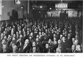 St. Barnabas Wednesday Evening Mens Meeting