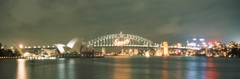 Sydney Harbour Bridge 2nd January 2000
