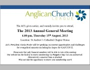 ACL AGM 2013