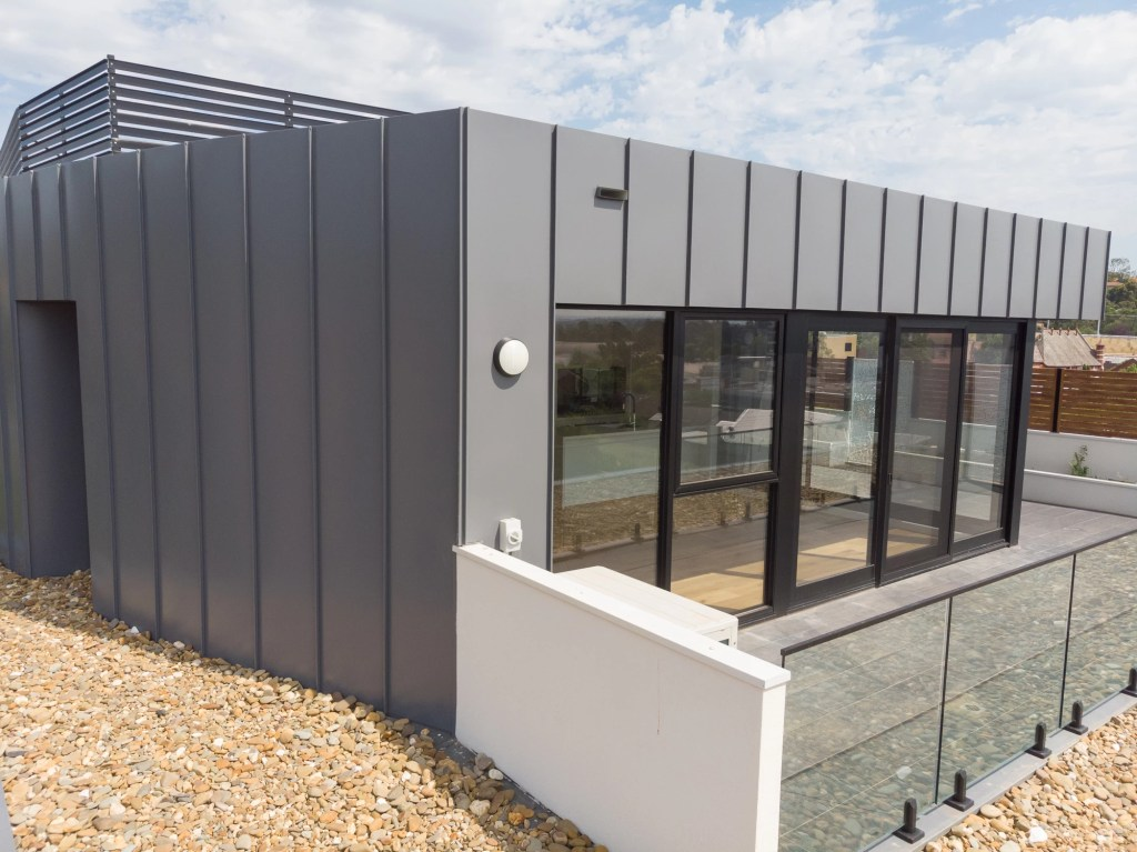 Hawdon St 11 - For anunforgettable look, you need Standing Seam Metal Cladding