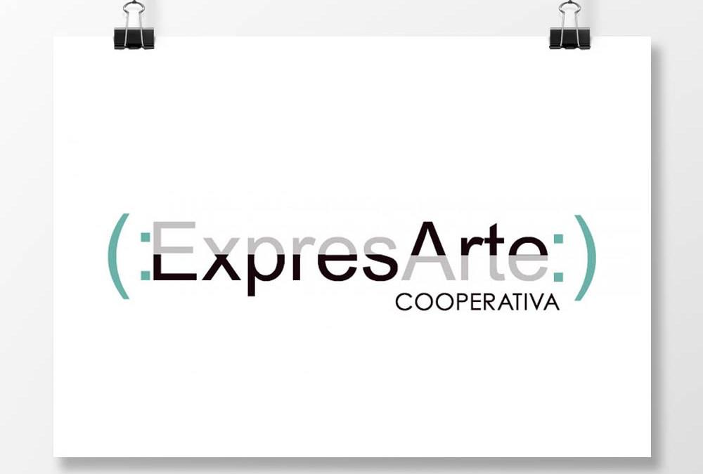 Diseño de logotipo para la asociación Expresarte