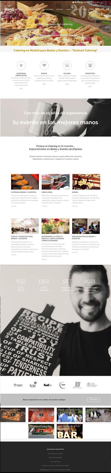 Portafolio Aclararte Comercio electrónico en WordPress. Tienda Cooking de Menaje del hogar