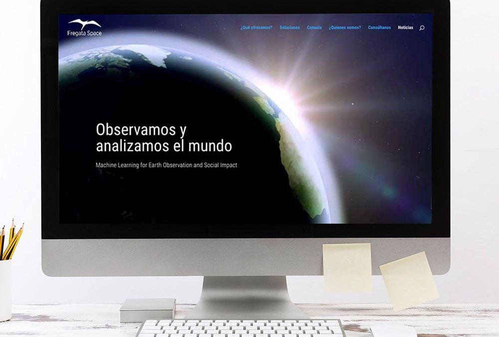 Web corporativa en onepage