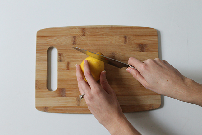 Clean your grimy microwave with a lemon