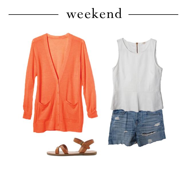 One Peplum Three Ways - Weekend Wear