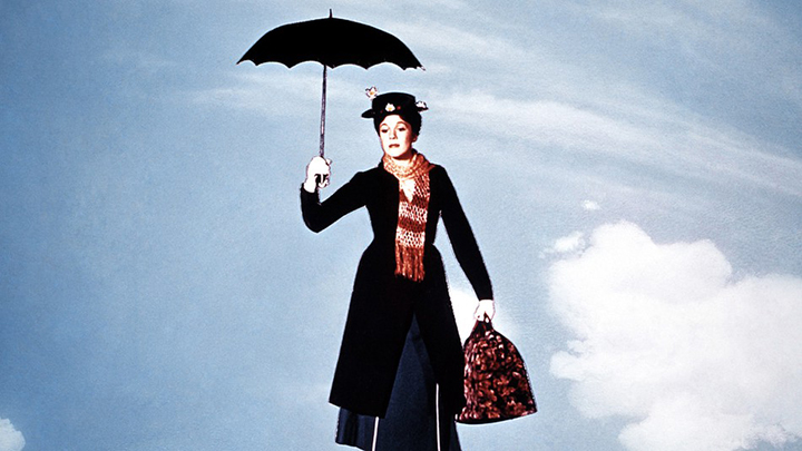 Sustainable thrift store Halloween costume ideas - Mary Poppins