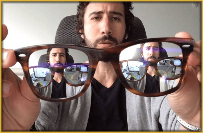 Mirroed Glasses