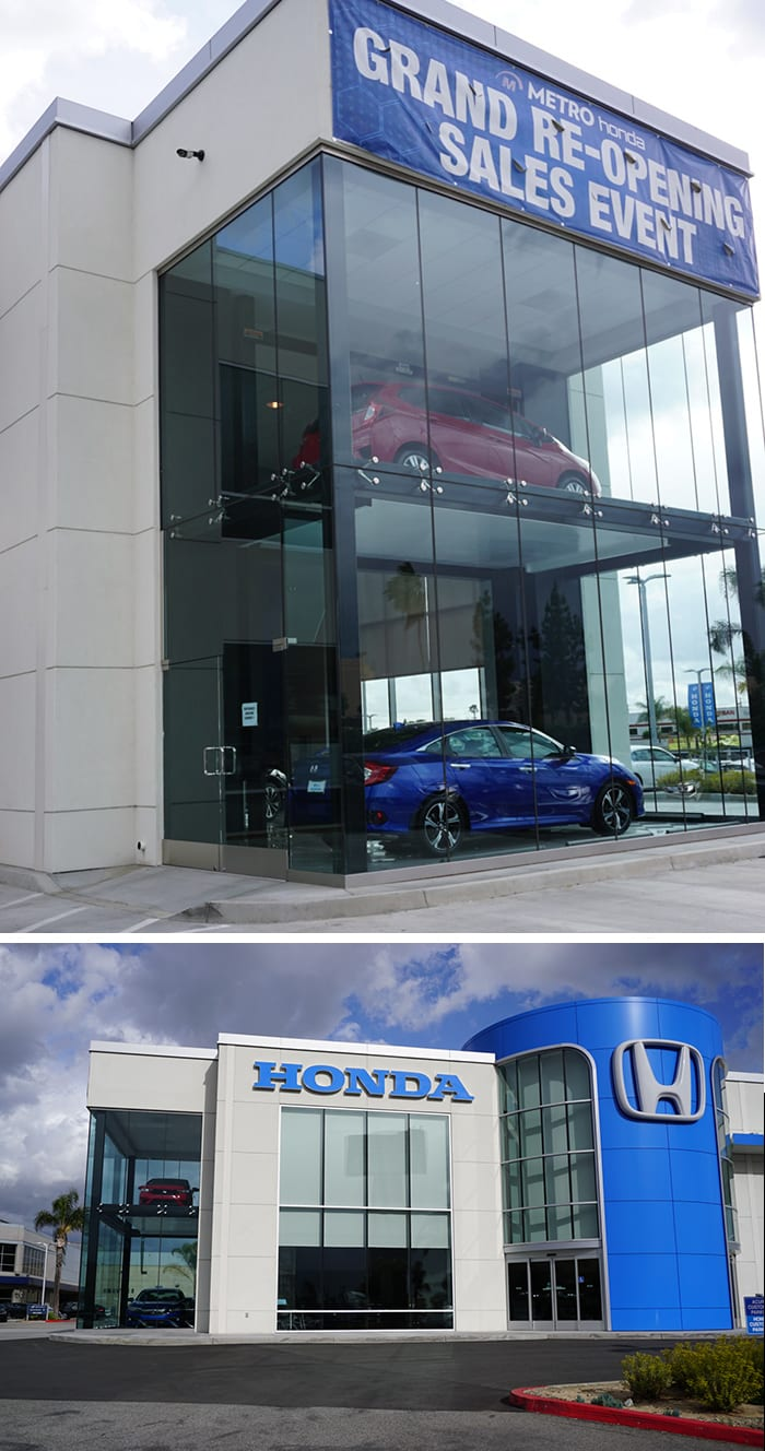 Metro-Honda-Showroom-Lift