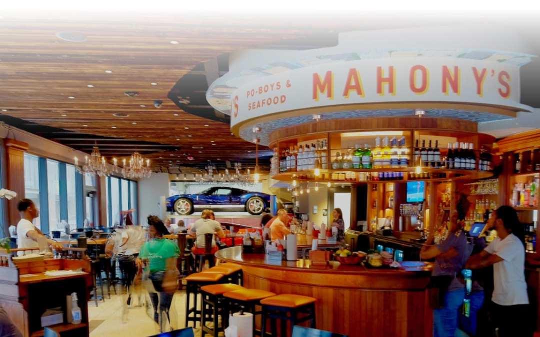Showroom Lift for Mahony's Po-Boys & Seafood