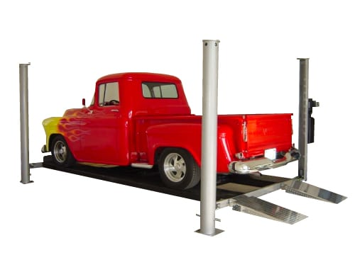 Park King 4 Post Car Lift Made In Usa American Custom Lifts