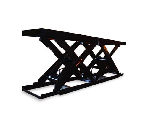 Series 35 Double Long Scissor Lift Table