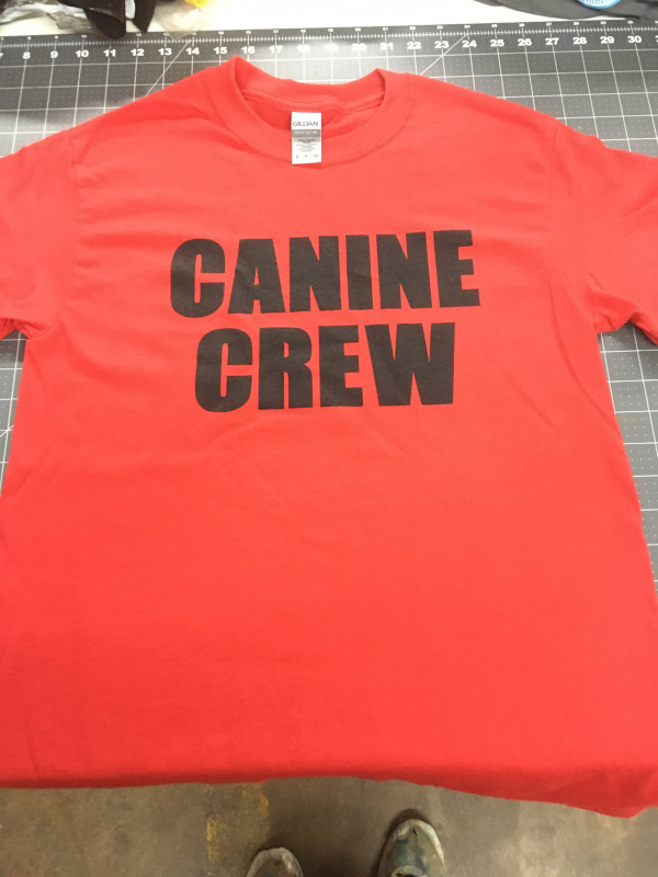 CANINE CREW T-Shirt - Red
