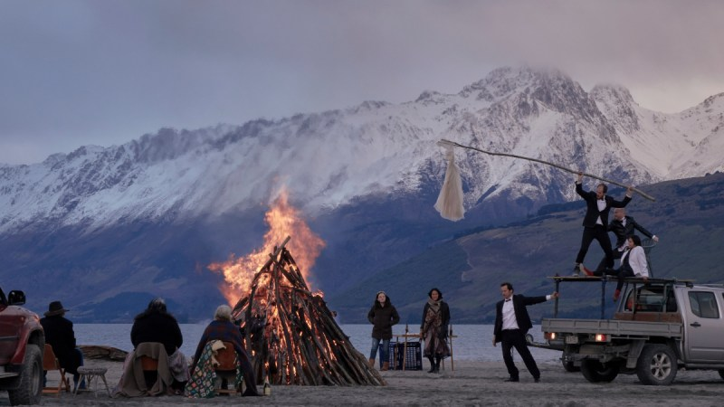 A scene from 'Top Of The Lake; China Girl' - DOP Germain McMicking