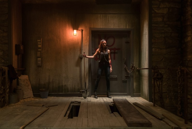 "Laura Vandervoort as ""Laura"" in JIGSAW."