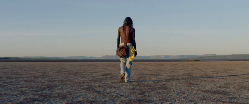 2. David Gulpilil AM in a scene from 'MESSiAH' - DOP Denson Baker NZCS ACS