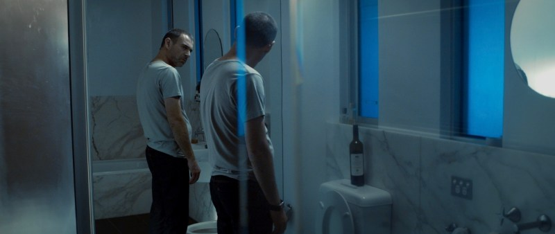 _Gavin (Stephen Carracher) considers who he is, in a scene from 'Restoration' - DOP Hugh Turral