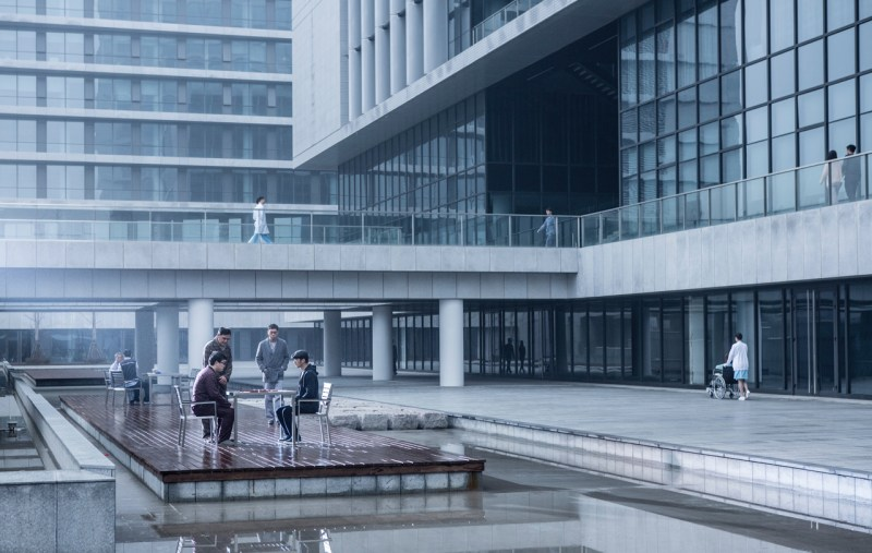 Outside the hospital in 'Heartfall Arises' - DOP Sion Michel ACS