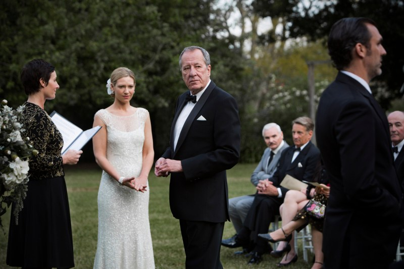 Geoffrey Rush in a scene from 'The Daughter' - DOP Andrew Commis ACS, PHOTO Mark Rogers