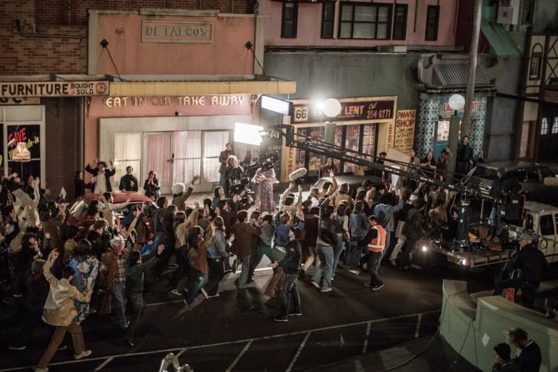 Behind-the-scenes on ABC telemovie 'Riot' -PHOTO Maria Boyadgis