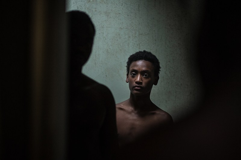 Tempest, played by Yared Scott, in 'All These Creatures - DOP Adric Watson, PHOTO Mathew Lynn