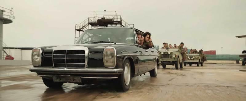 2. A scene from the film 'Entebbe' - DOP Lula Carvalho ABC ACS