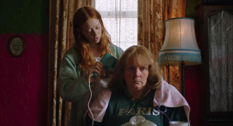 Iona (Lily Newmark) and Lyn (Joanna Scanlan) in 'Pin Cushion' - DOP Nicola Daley ACS
