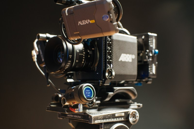 The ARRI OCi-1 for wireless FIZ control - PHOTO Sean Dooley